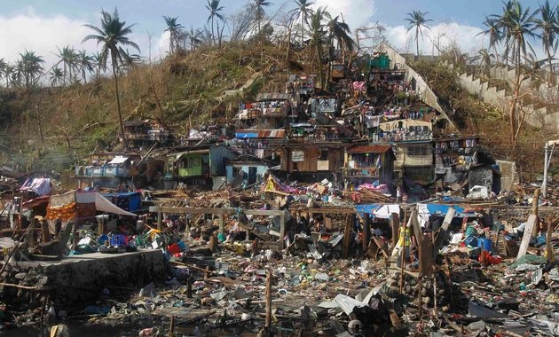 Glints of hope emerge in typhoon-hit Philippines city Tacloban