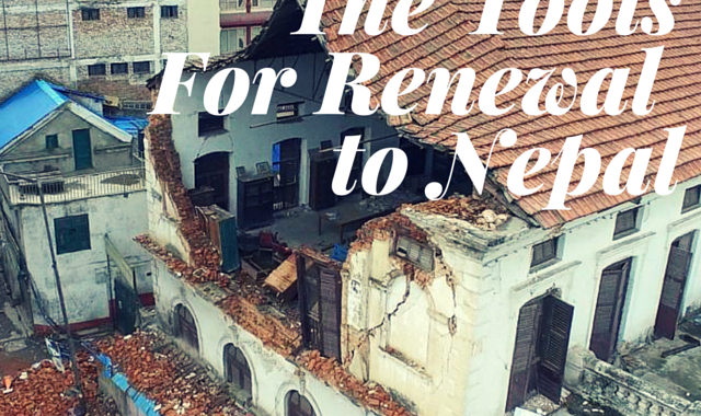 It's Time to Help Nepal Rebuild!
