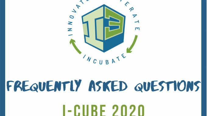I-Cube Program 2020- Frequently Asked Questions