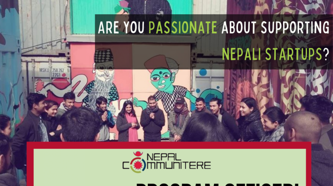 Are YOU Nepal Communitere's Next Program Officer?
