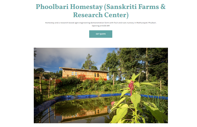 Sanskriti Farms and Research Center: Leading by Example
