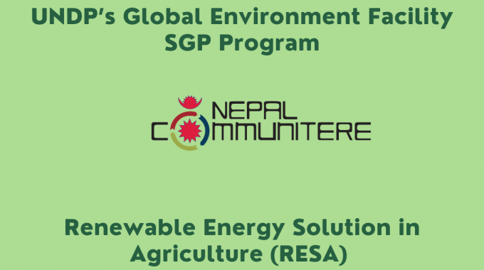 Launch of 2 New Programs at Nepal Communitere